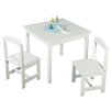 TMS Hayden 3 Piece Kids Square Table & Chair Set