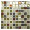 """Mosaik 9.85"""" x 9.85"""" Mosaic Tile in Multi"""