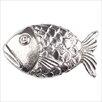 Linkasink Large Fish Pop-Up Bathroom Sink Drain