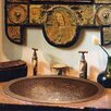 Linkasink Oval Botanical Bathroom Sink