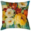 Thumbprintz Flower Power 1 Indoor/Outdoor Throw Pillow