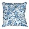 Thumbprintz Rose Tonic Indoor/Outdoor Throw Pillow