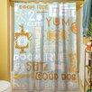 Thumbprintz Dog Bark Shower Curtain