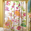 Thumbprintz White Anima Shower Curtain