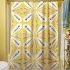 Thumbprintz Citron and Slate I Shower Curtain