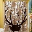 Thumbprintz Wilderness Deer Shower Curtain