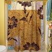 Thumbprintz Floral Study in Blocks Shower Curtain