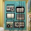 Thumbprintz Radios Shower Curtain