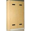 Stevens ID Systems 1 Tier 2 Wide Music Robe Storage Locker