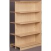 "Stevens ID Systems Library Adder Double Face Shelf 61"" Standard Bookcase"