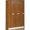 Stevens ID Systems 1 Tier 3 Wide Doors Locker