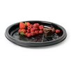 Fineline Settings, Inc Platter Pleasers Round Majestic Style Thermoform Serving Tray (Set of 25)