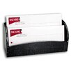 Dacasso 2000 Series Crocodile Embossed Leather Letter Holder in Black