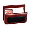 Dacasso 8000 Series Rosewood and Leather Business Card Holder