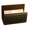 Dacasso 8000 Series Walnut and Leather Business Card Holder