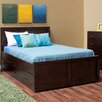 Epoch Design Peyton Full Panel Bed with Storage Trundle