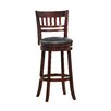 """Woodhaven Hill 29"""" Swivel Bar Stool with Cushion"""