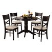 Woodhaven Hill Clancy 5 Piece Dining Set