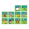 KaloKids Town & Country Zoo Animals Kids Rug (Set of 30)