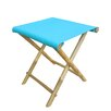 ZEW Inc Bamboo Foldable Stool