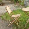 ZEW Inc Foldable Chair (Set of 2)