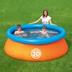 "Splash and Play Round 26"" Deep 3D Adventure Fast Set Family Pool"