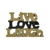 "Blossom Bucket ""Live Love Laugh"" Letter Block (Set of 2)"