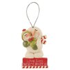 "Blossom Bucket ""Where Baby Is"" Snowman Ornament (Set of 6)"