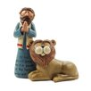 Blossom Bucket He Has Rescued Daniel with Lion Figurine (Set of 4)