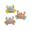 Blossom Bucket 3 Piece Colorful Crabs in Swimsuits Figurine Set (Set of 2)