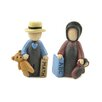 Blossom Bucket 2 Piece Amish Children with Toys Figurine Set (Set of 2)