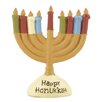 Blossom Bucket Happy Hanukkah Menorah (Set of 4)