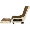 Imperial Cat Scratch 'n Shapes 2 Piece Club Chair Set Recycled paper Scratching Board