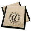 A Southern Bucket Personalized Burlap Table Runner