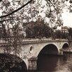 Evive Designs Pont Louis-Philippe, Paris by Alan Blaustein Photographic Print