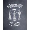 Evive Designs 'Homemade' by Susan Newberry Painting Print in Black and White