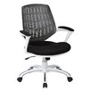 OSP Designs Ave Six Calvin Mid-Back Mesh Task Chair with Arms