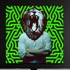 "Salty & Sweet ""Heart Of A Lion"" Canvas Art"