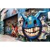 "Fluorescent Palace ""Graffiti Alley"" Canvas Art"