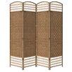 "ORE Furniture 66.75"" x 63.25"" 4 Panel Room Divider"