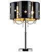 """ORE Furniture Starry Night 30"""" H Table Lamp with Drum Shade"""