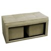 ORE Furniture Storage Ottoman with Hidden Seating