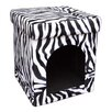 ORE Furniture Collapsible Zebra Dog House