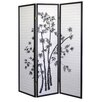 "ORE Furniture 70"" x 51"" Bamboo 3 Panel Room Divider"