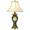 "ORE Furniture Handcrafted 29"" H Table Lamp with Bell Shade"