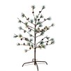 "Midwest Seasons 48"" Green Pine Artificial Christmas Tree with 120 LED Lights"