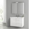 "ACF Bathroom Vanities New York 32.3"" Single Bathroom Vanity Set"