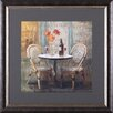 Art Effects Meet Me at Le Café I by Danhui Nai Framed Painting Print