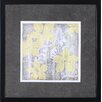 Art Effects Yellow and Gray I by Jennifer Goldberger Framed Painting Print