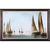 Art Effects Golden Sails by Drako Fontaine Framed Painting Print